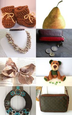 2289 - Brown Finds by Shelley on Etsy--Pinned with TreasuryPin.com