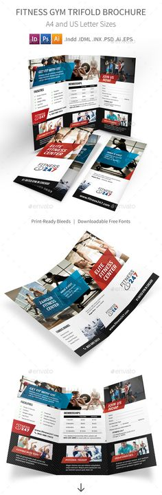 Fitness Brochure  Creative We And Creative Brochure