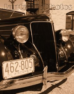 Ford V8: This sepia photo of a 1936 Ford V8 is by JantasticPhotos