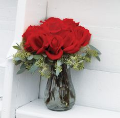 4086 Rose Vase