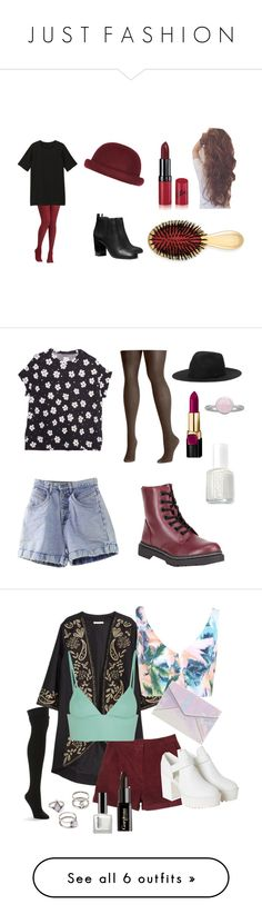 """J U S T  F A S H I O N"" by thechickk ❤ liked on Polyvore featuring Monki, Tory Burch, River Island, Rimmel, AERIN, Soda, Essie, Pieces, H&M and Miss Selfridge"