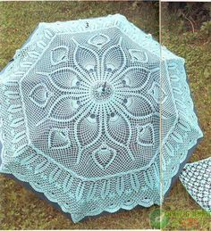 Beautiful crochet crochet crochet crochet sun umbrellas (with illustrations oh)