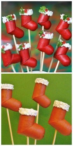 bocaditos navideños.. muy original Más
