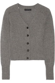 Burberry Prorsum Fine-knit cashmere cardigan | THE OUTNET