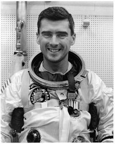 Roger Bruce Chaffee (February 15, 1935 – January 27, 1967), Lieutenant Commander, United States Navy, was a Naval Aviator, aeronautical engineer and a NASA astronaut in the Apollo program. Chaffee died along with fellow astronauts Gus Grissom and Ed White during a pre-launch test for the Apollo 1 mission at the then-Cape Kennedy Air Force Station, Florida, in 1967.