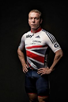 Sir Chris Hoy in the new British Cycling/Adidas team kit Sir Chris Hoy, Cycling Weekly, Lycra Men, Cycling Outfit, Great Britain, Olympics, Sportswear, British, Athletic