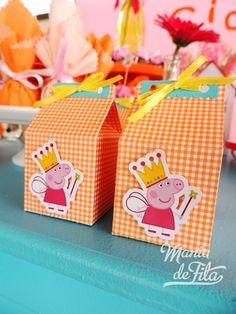 Minha Princesa Sophia: 64 ideias de decoração - Festa Peppa Pig