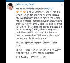 Orange Eyeshadow, Eyeshadow Base, Gel Eyeliner, Fall Collections, Eye Color, Concealer, Eyeshadows