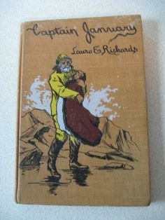 Captain January by Laura E Richards 1902 Decorated Antique Hardcover Book by ShopWithLynne for $5.00