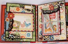 Graphic 45 Home Sweet Home Mini album.