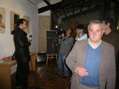 en plena entrevista en Tele Bullas