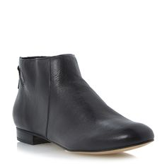 DUNE LADIES PENY - Back Zip Detail Ankle Boot - black | Dune Shoes Online