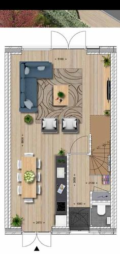 Plattegrond woonkamer House Floor Plans, Game Room, Tall Cabinet Storage, My House, Gameroom Ideas, Beach House, Sweet Home, Layout, House Design