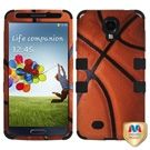 Samsung Galaxy S4 Hybrid Case - Basketball