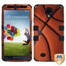 Samsung Galaxy S4 Hybrid Case - Basketball