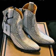 Natural Cobra Custom Heel and Toe