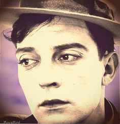 Buster Keaton  colorized by Movie Mind/fb