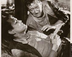 "Earl Holliman Movies   Vintage Original photograph John Wa yne & Earl Holliman - ""The Sons of ..."