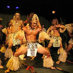Marquesan male dancers, performed a rousing, stomping, thigh-slapping routine.