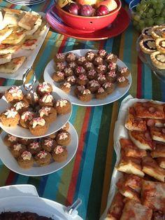 Mini frappucino cupcakes for slunch - cupcake al cappuccino