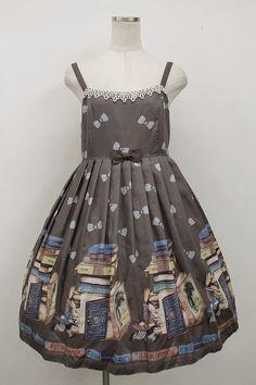 Leur Getter / BOOK Wonderland high waist dress - closet child online shop