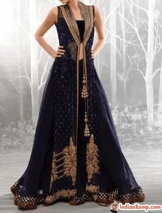 Indian-inspired Wedding Gown   Semi formal dresses for Women, New Dress Collection 2013_BlueGown ...