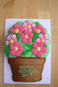 Mother's Day Cake By tkatz on CakeCentral.com