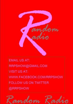 Radio Show News! The Random Radio Podkast Show Sunday May 21st featuring Jean Cabbie & The Secret Admirer Society and Ariana Hodes in the Random Battle Of The Week plus Lorenzo Allen interview and new music from LSoulhiphop, FleeGang, Royzy Rothschild and many more and don't forget to watch the new episode of the Random Radio Video Show on YouTube now. Have A Great Weekend!  Listen to Random Radio Podkast Show 05/22/17: https://www.youtube.com/channel/UCL0kiBB66bjIIQ4udMR31jg