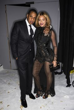 Beyoncé and Jay Z are just the cutest.