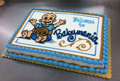 Babymania!  Baby shower cake by Stephanie Dillon, LS1 Hy-Vee