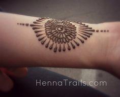 Beautiful work by Henna Trails