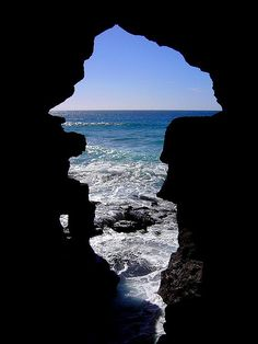 Fantastic Grotto of Hercules near Tangier, Morocco (by Aires dos Santos).