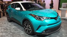 Check out this nifty teal paint on the 2018 Toyota C-HR http://www.autoblog.com/2017/02/09/2018-toyota-chr-color-chicago/