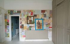 Patchwork Walls: Creating Wallpaper One Piece at a Time