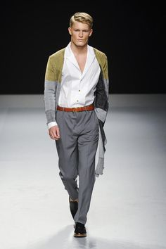 Vivienne Westwood Men's S/S '13 Perfect for Sunday brunch at the Club.  Throw in a few Bloody Mary's and great friends! ;)  -Anthony H.