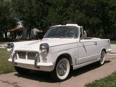 1962 Triumph Herald 948cc Conv. Towards the end of the 1950s Standard-Triumph…