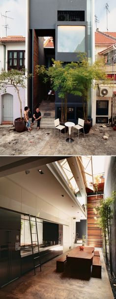 Modern shop in Singapore by Ching Ian and Yang Yeo.