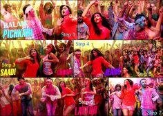Dance along with Ranbir, Deepika, Aditya and Kalki on Balam Pichkari.                                                Re-Pin to make your friends a part of this madness! Desi Humor, Desi Memes, Independent Music, Naturopathy, People Art, Life Is An Adventure, Tai Chi, Gymnastics, Madness
