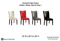 Concord Cafe Chairs