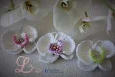Video tutorial how to crochet orchid, tunisian crochet.