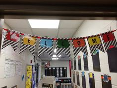 The Open Door Classroom: My Classroom Tour. 3rd Grade Classroom, New Classroom, Classroom Themes, Road Trip Theme, Energy Bus, Race Car Themes, School Themes, School Decorations, School Ideas