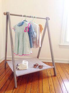 Support à vêtement enfant, vêtements Display, habiller Rack, enfant en bas âge Dress Up, Capsule penderie, porte des vêtements modernes