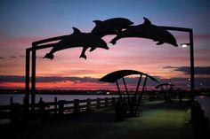 Sunset Celebration at Vilano Beach Town Center - FloridasHistoricCoast.com