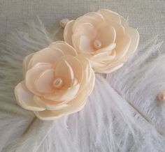 Hey, I found this really awesome Etsy listing at https://www.etsy.com/listing/187574792/beige-nude-pale-peach-fabric-flowers-in
