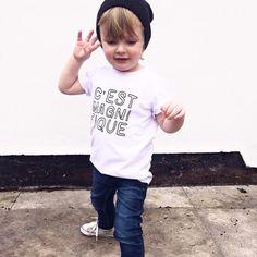 c'est magnifique   young one apparel