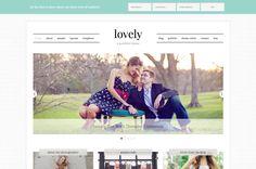 Lovely Feminine WordPress Themes using the Genesis Framework