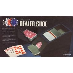 Professional Dealer Shoe Bring The Vegas Tables Into your Home (Misc.)  http://www.amazon.com/dp/B003YZ2CNG/?tag=goandtalk-20  B003YZ2CNG