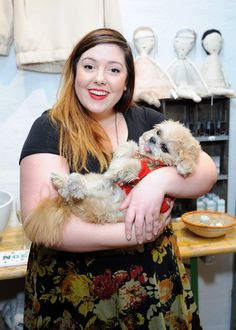 Mary Lambert Marnie the Dog Photos - Singer-songwriter Mary Lambert (L) and Marnie The Dog attend Small Business Saturday Night at Warm Boutique on November 2014 in New York City. Mary Lambert, Small Business Saturday, Saturday Night, American Singers, Dog Photos, Marni, Celebrities, Dogs, November
