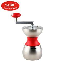 Yami meters stainless steel household hand grinder coffee mill ceramic core water wash mullens $233.52