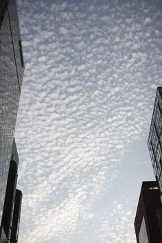 clouds in Ginza